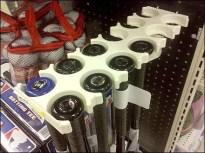 Plastic Ambidextrous Bat Holder