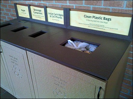 Cabinet-like Recycling Center is Back-Signed