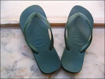 Havaianas Flip Flops via Wikipedia