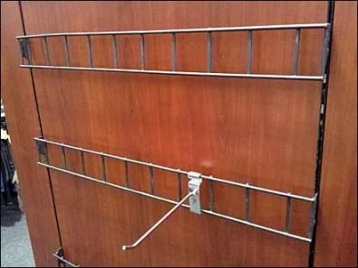 Ladder-like Backbar as Grid