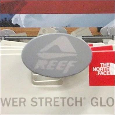 Logo Branded Display Hook Detail