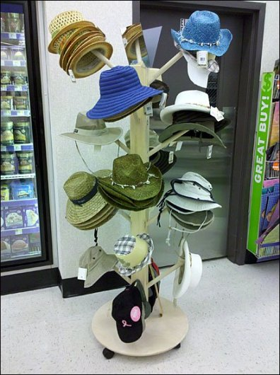 Mobile Hat Tree