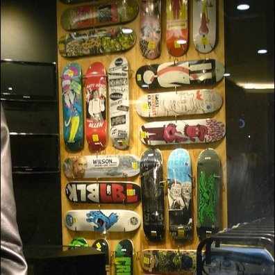 Facination For Shop Windows Skateboards