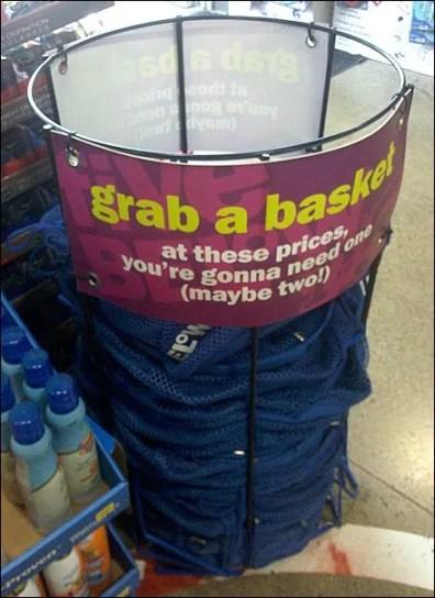 Grab a Circular Basket