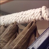 Rope as Nautical Motif Detail