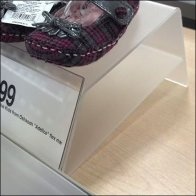 Shoe Pedestal Detail