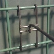 Green Grid All-Wire Hooks