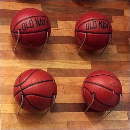 Basketball Sets a Seasonal Theme Detail