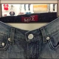 Levi's Jeans Rivet Detail