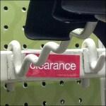 Curvaceous Shovel Merchandiser Utility Hook
