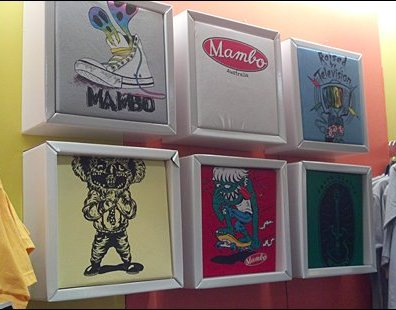 Corrugated T-Shirt POP Shadowboxes