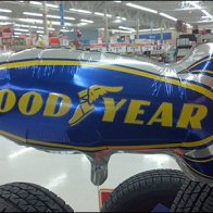 Goodyear Tire Balloon point of purchase Display