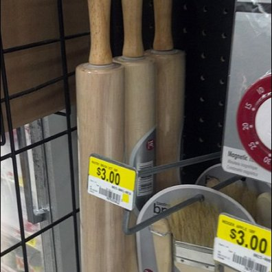 Rolling Pin on Scan Hook