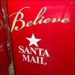 Macys Santa Mailbox In Store Fixtures Close Up