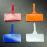 Hang Tags in Vibrant Color