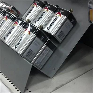 6v Battery Backstop Closeup