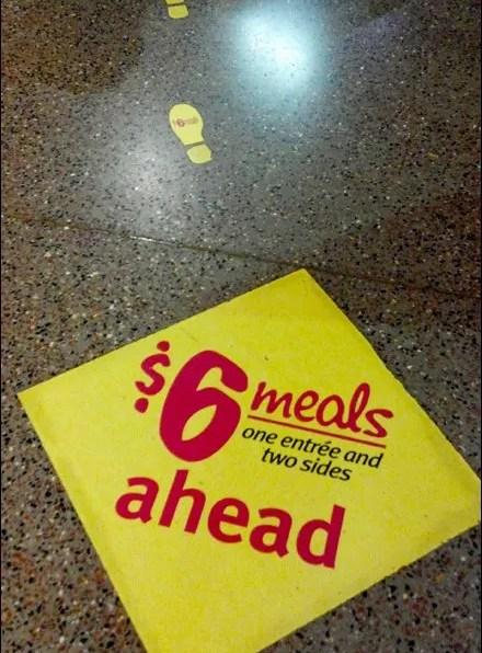 Floor Graphic Footprints Main