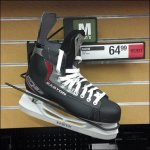 Eccentric Ice Skate Loop Hook for Slatwall