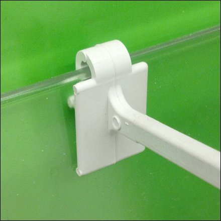 Plastic Hook on Clear Productstop CloseUp
