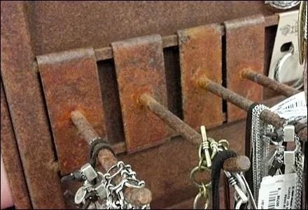 Rusty Display Hooks Main