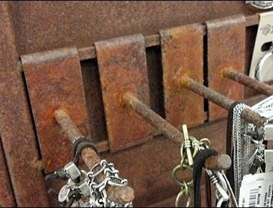 Rusty Display Hooks Main