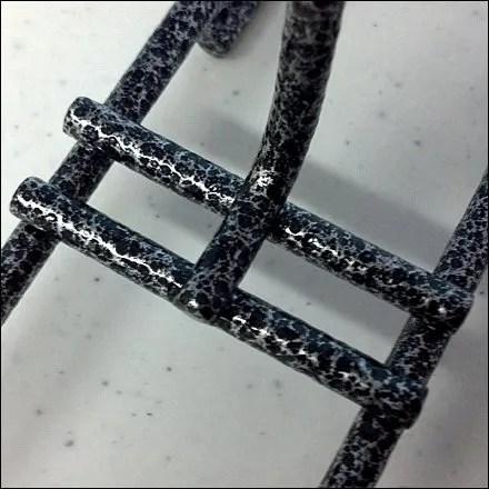 Silvervein Varigated Grid Hooks Closeup