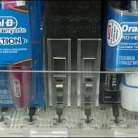 Toothbrush Pushers Closeup