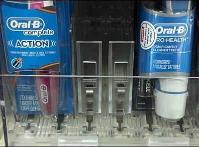 Toothbrush Pushers Closeup