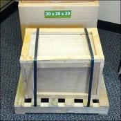 Miniature Wood Crate POP