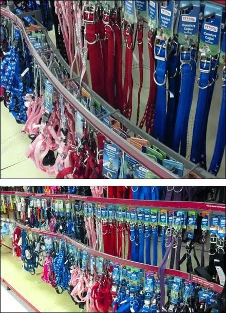 Pet Collar Multi-Hook Bar