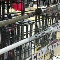 Baseball Bats on Slatwire Grid Hooks