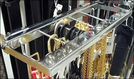 Designer Belts on Lockdown