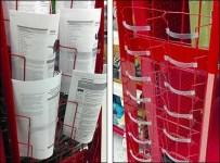 Wire Rack Employs Safety Belt
