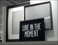 Live in The Moment Retail Motto