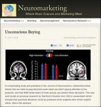 Unconscious Buying Behavior in Retail
