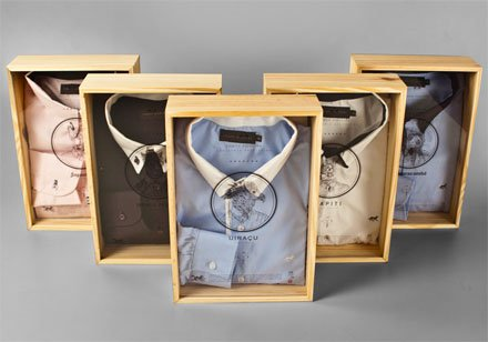 Wood Package Design for Apparel