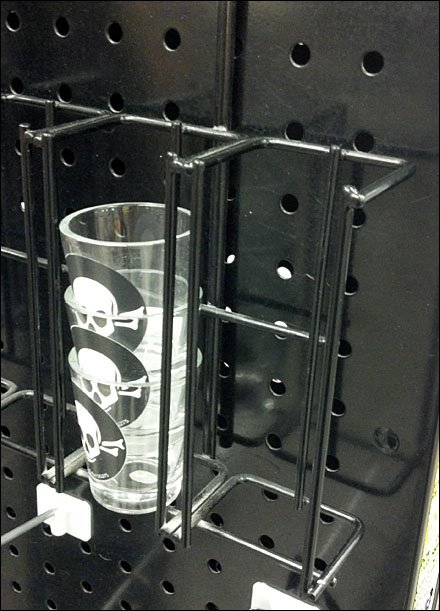 Basic Black Shot Glass Rack