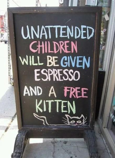 Unattended Child Warning