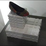 Unsonial Block as Shoe Pedestal