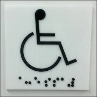 Braille for the Near Sight Closeup