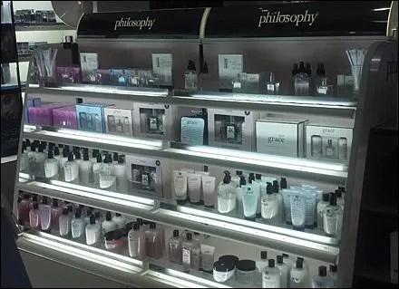 Shelf-Edge Philosophy of The Philosophy Brand
