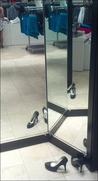 Shoe Merchandising Smoke and Mirrors Main