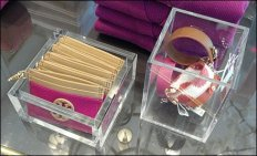 Acrylic Accessory Trays Closeup