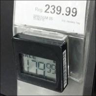 Keurig Electronic Digital Shelf Edge Price Ticket Closeup