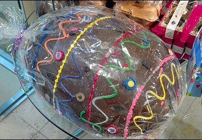 Giant Chocolate Easter Egg Main