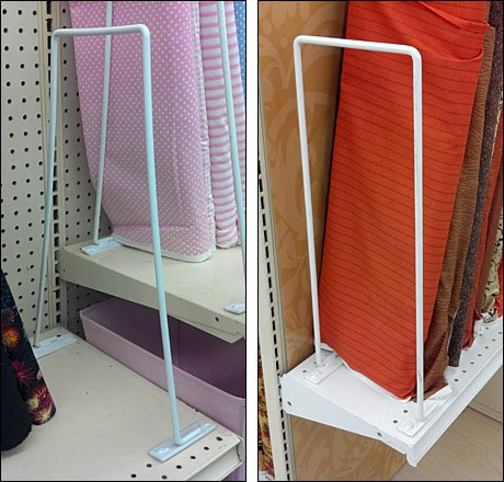 Wire Dividers Flex to Fit Shelf