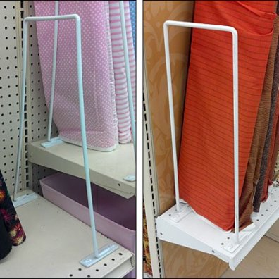 Divider Flexes to Fit Shelves