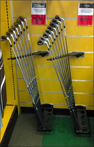 Golf Club Rack Main