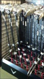 Golf Club Rack Overall