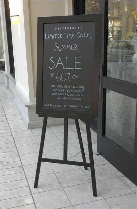 Pottery Barn Retail Fixtures